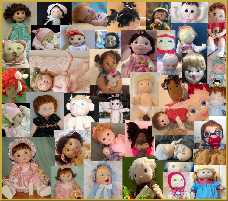 Cloth Baby Dolls - Challenge 2017