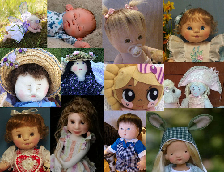 Cloth Baby Dolls - Challenge 2019