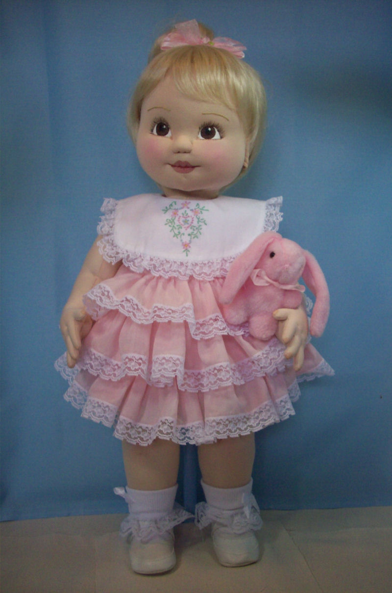 Beginners 2012 Cloth Baby Doll Challenge Doll Net