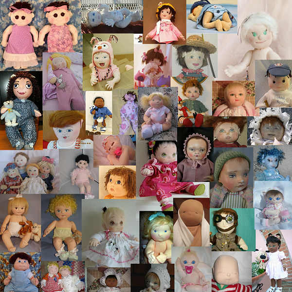 Cloth Baby Dolls