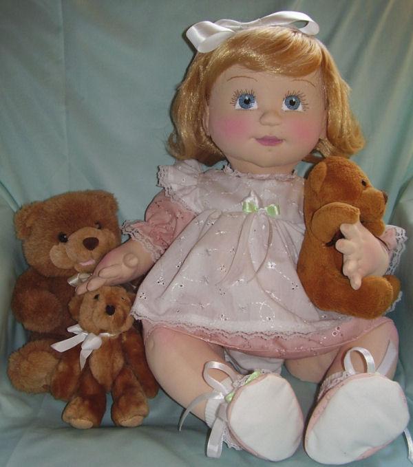 Intermediate 2013 Cloth Baby Doll Challenge Doll Net