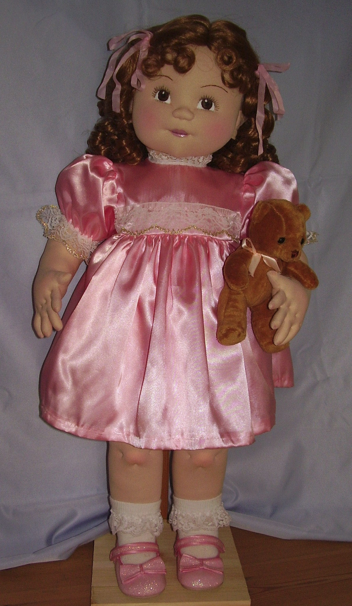 Intermediate CHILD Doll Category 2014 Cloth Child Doll Challenge