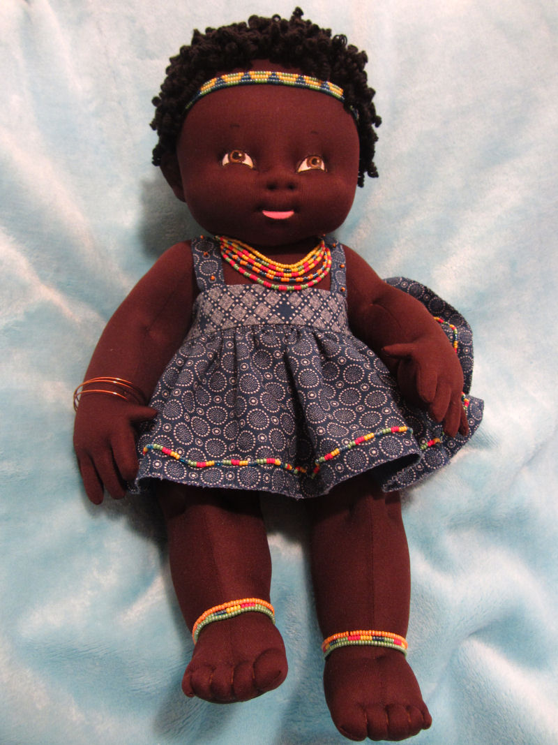 Advanced Baby Doll Category 2016 Cloth Doll Challenge