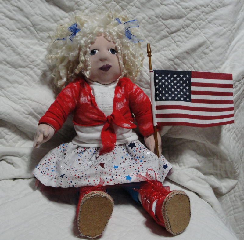 Advanced Child Doll Category 2016 Cloth Doll Challenge Doll Net