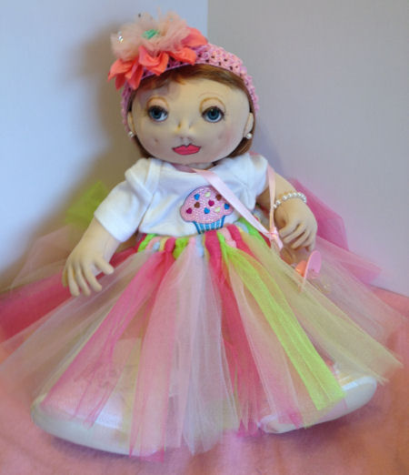 Advanced Baby Doll Category 2017 Cloth Doll Challenge